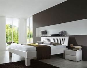 Bett Massivholz 180x200 : massivholzbett paris i bett massivholz 180x200 cm buche wei komforth he ebay ~ Indierocktalk.com Haus und Dekorationen