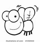 Clipart Flies Fly Clip Coloring Colorear Dibujo Mosca Cartoon Insect Dibujos Toon Hit Juegos Fireflies Rf Pintar Drawings Clipartpanda sketch template
