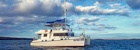 Catamaran Galapagos Islands by Lonesome George Galapagos Catamaran Greengo Travel