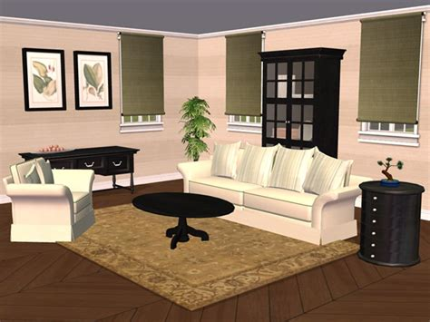 Mod The Sims  Tarox's Living Room Recolors