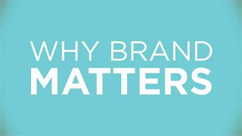 Why Brand Matters For Enterprises?  Future Startup