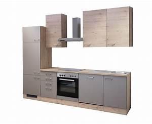 Küche 280 Cm : k chenzeile riva k che mit e ger ten 14 teilig breite 280 cm bronze metallic k che ~ Markanthonyermac.com Haus und Dekorationen