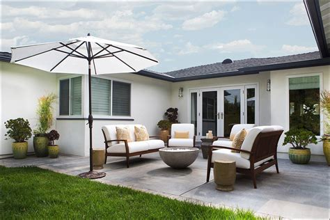 Outdoor Patio Design Ideas by 24 Transitional Patio Designs Decorating Ideas Design