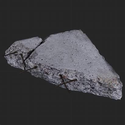Concrete Debris Kanistra
