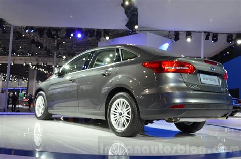 Ford Focus China by Ford Focus China Spec Rear Three Quarters At 2015 Shanghai