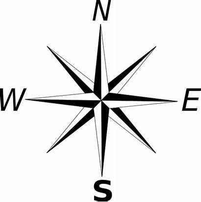 Compass Rose Simple Clipart Clip Library Espanol