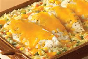 Campbell's Cheesy Chicken and Rice Casserole