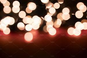 Bokeh Blurred Fairy Lights