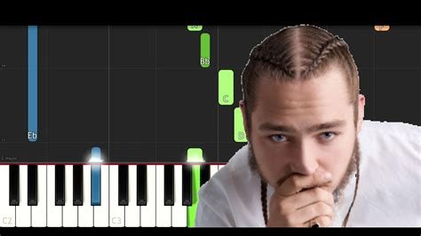 Rockstar (piano Tutorial)