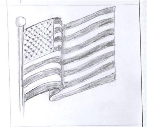Art class ideas: Waving American Flag | Flag drawing ...