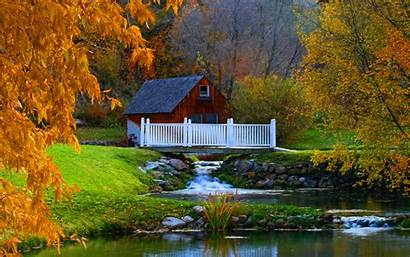 Autumn Wallpapers Desktop Fall Country Peaceful Scenery