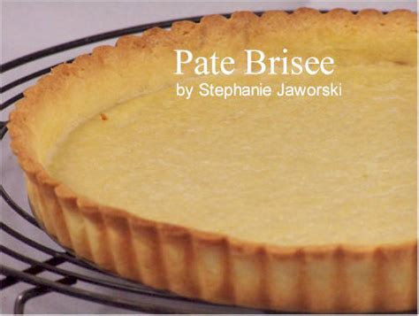pate brisee recipe with picture joyofbaking tested