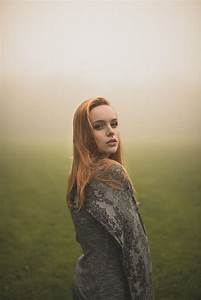 Natural outdoor portraits with megan bea tiernan in mist ...