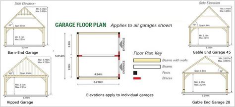 garage drawings uk plans woodworking wood