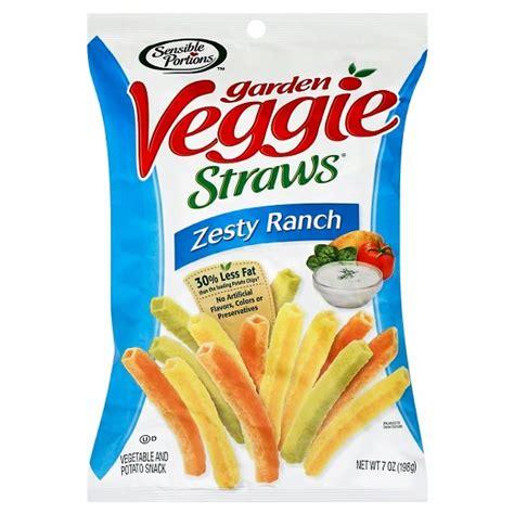 garden veggie straws sensible portions zesty ranch garden veggie straws 7oz