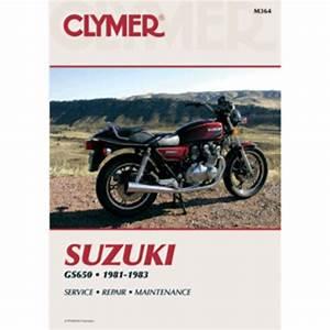 Clymer Suzuki Gs650  1981