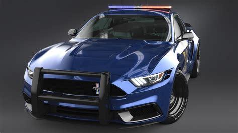 ford mustang notchback design police  wallpaper hd