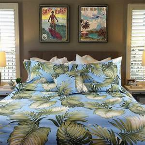Hawaiian, Surf, And, Tropical, Bedding, How, To, Create, Different, Bedroom, Designs, Using, Tropical