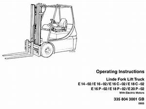 Original Illustrated Factory Operating And Maintenance