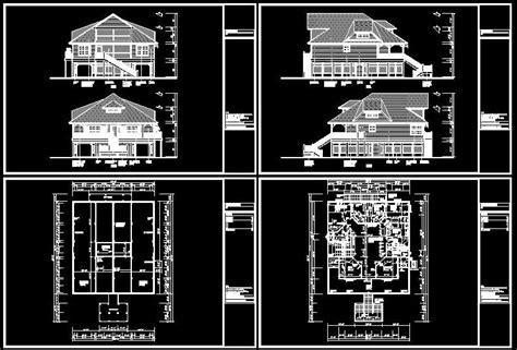 cad building template  house plans house type  sqft