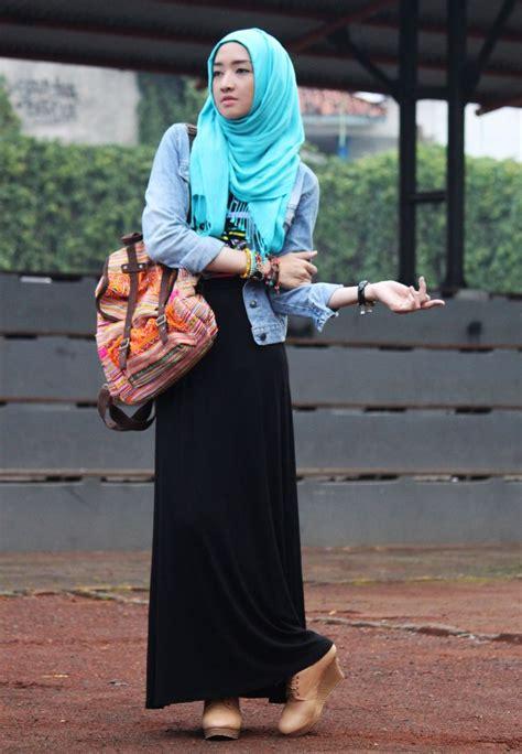 shawl black long dress jacket jeans tibet backpack