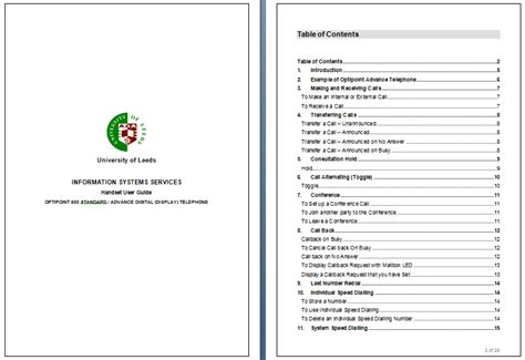 manual template word manual templates word templates docs