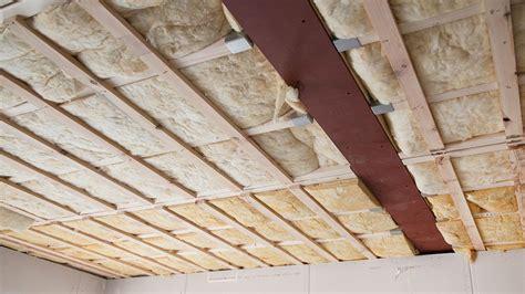 isoler un faux plafond isoler un faux plafond