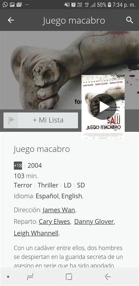 By adminunleashed 3 meses ago. Juego Macabro Peliculas Lista : Juego Macabro Peliculas ...