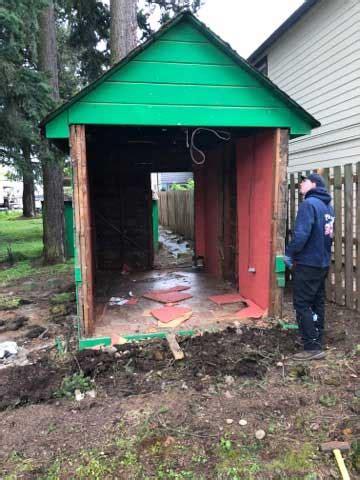 how to tear a shed shed storage shed tear removal portland oregon