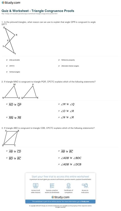geometry angle proofs worksheets with answers parallel