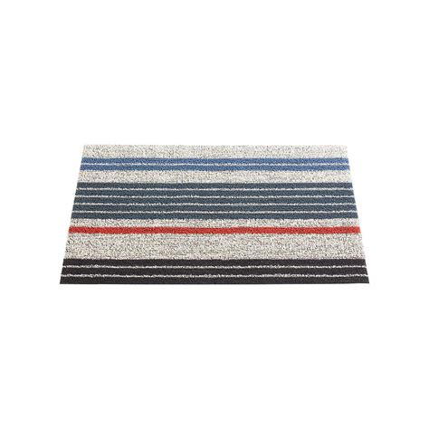 chilewich doormats chilewich montauk multi stripe door mat the container store