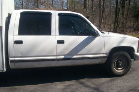 Find Used 4 Door Pick Up, Work Truck With Utility Box. In