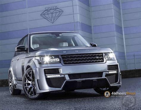 Onyx Does The Range Rover Aspen