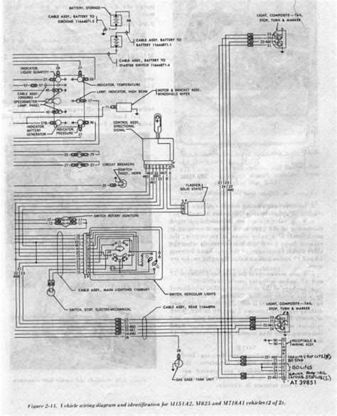 M38 Army Jeep Wiring Schematic by M38a1 Turn Signal Wiring G503 Vehicle Message