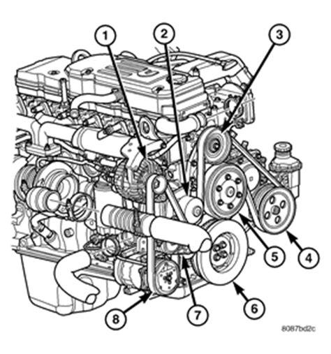 2005 Mercede Engine Diagram by Solved Belt Routing Diagram 2006 Dodge Magnum Fixya