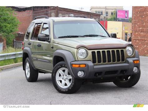 2003 green jeep liberty 2004 cactus green pearl jeep liberty sport 4x4 80948505