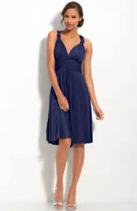 navy blue bridesmaid navy blue knee length bridesmaid dresscherry cherry