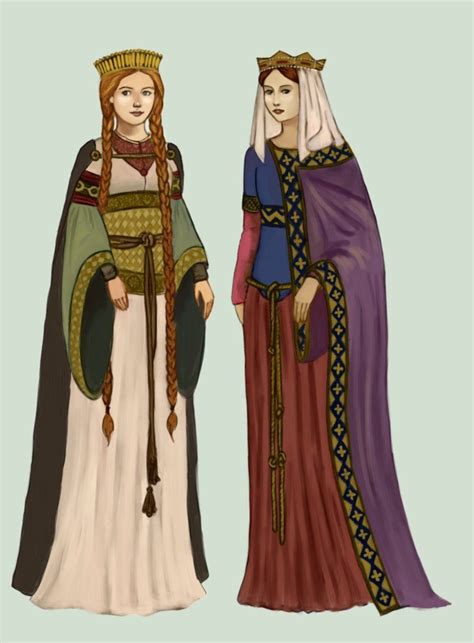 Early Medieval clothing: Frankish women from the time of ...
