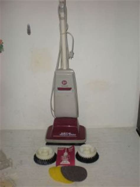 Hoover Floor Scrubber Polisher by Vintage 60s Hoover Floor Shoo Polisher Scrubber Buffer