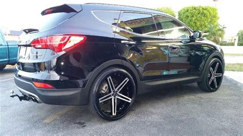 Hyundai Santa Fe Rims by 2014 Hyundai Santa Fe Sport 2 0t On 24 S Hyundai Santa