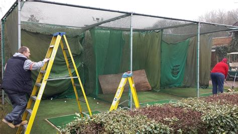 Golf Swing System by Replacement Golf Nets Golf Swing Systems