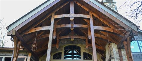 Timber Frame Building, Heavy Timber Building, Post & Beam