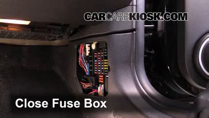 interior fuse box location   mini cooper  mini cooper   cyl coupe