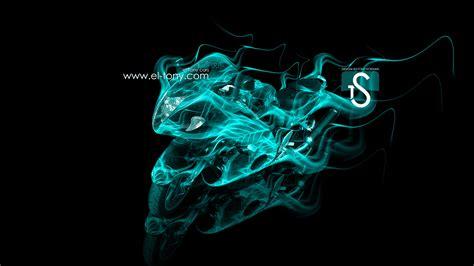 suzuki hayabusa fire abstract moto  el tony