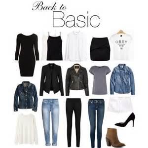 Basiques Garde Robe Femme by Mode Femme Les Basiques