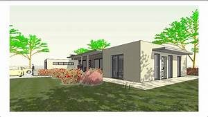 maison plain pied moderne joy studio design gallery With maison de 100m2 plan 4 plans de maisons maison laure constructeur region centre