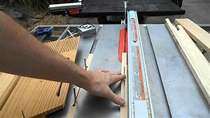 Home-made featherboards for table saw - YouTube