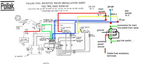 Ford Fuel Tank Selector Valve Wiring Diagram by Pollack Valve Wiring Diagram Wiring Diagram