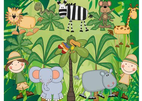 jungle theme wallpaper  kids wallpapersafari