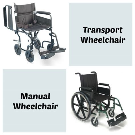 transport wheelchairs vs standard manual wheelchairs hme mobility accessibility